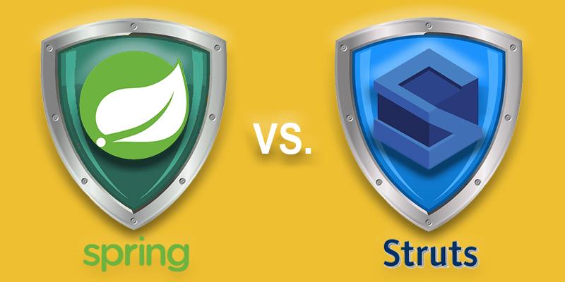 Apache Struts vs. Spring