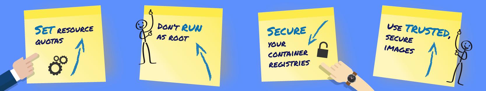 Docker container security Best practices
