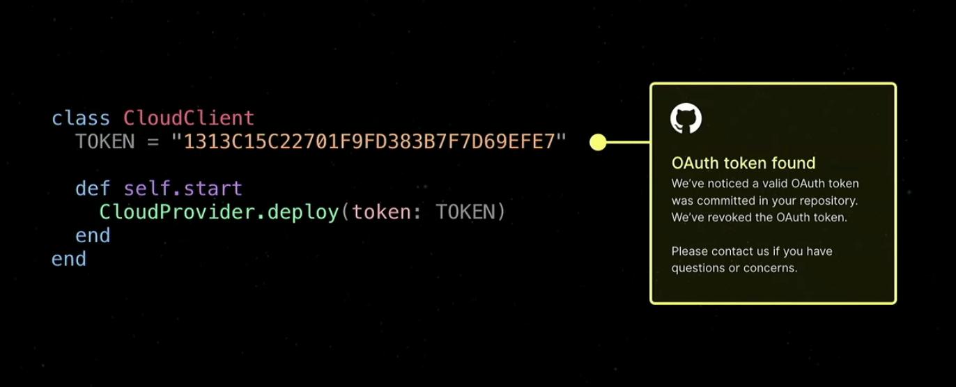 GitHub Token Scanning